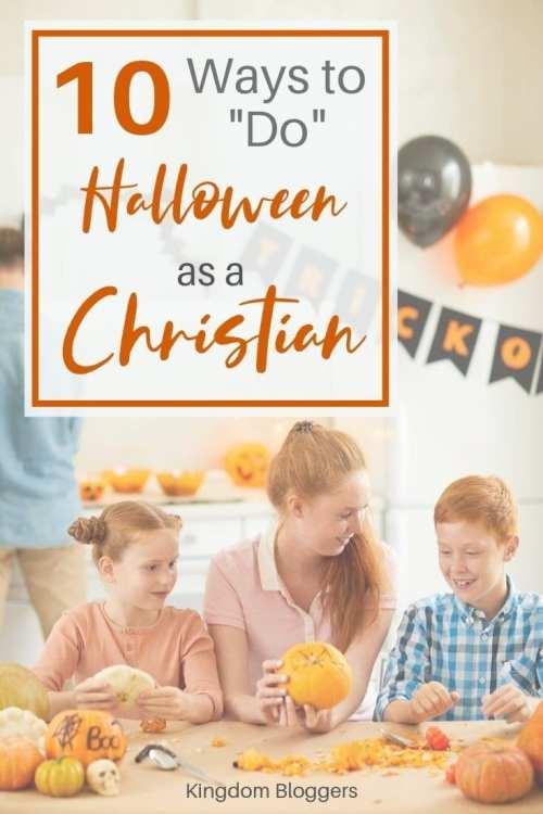 do Halloween as a Christian