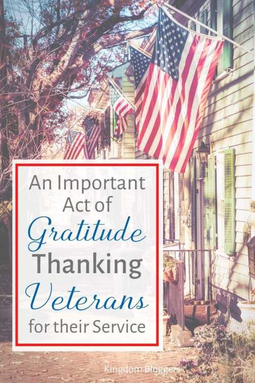 Thanking Veterans for Their Service