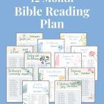 12 month bible reading plan