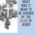 covered by the blood of christ