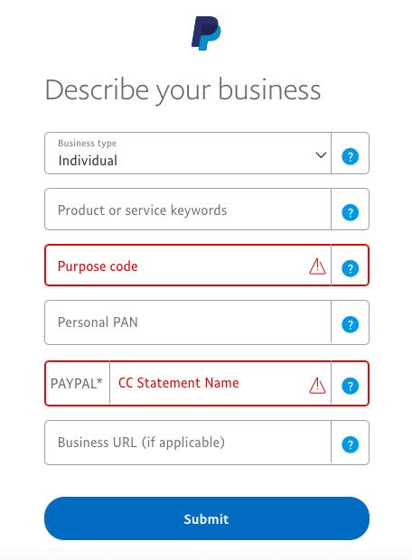 description de l'entreprise paypal