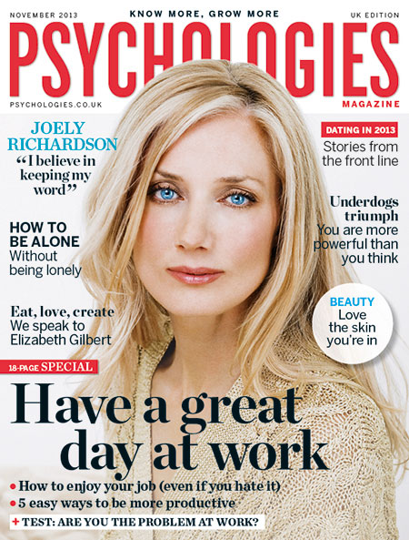 Blogger outreach assignment: Review the revamped Psychologies Magazine - (Dec issue, out 1st Nov)