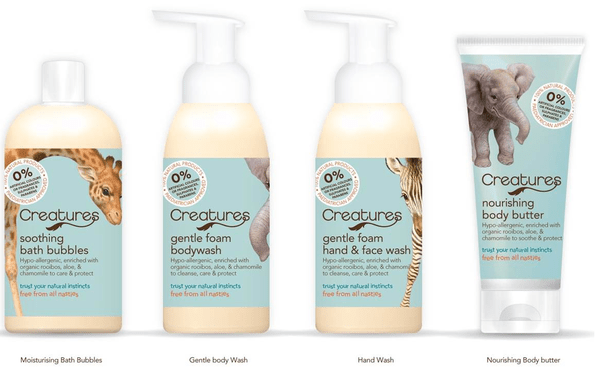 Development help & blogger reviews for new children's toiletries brand