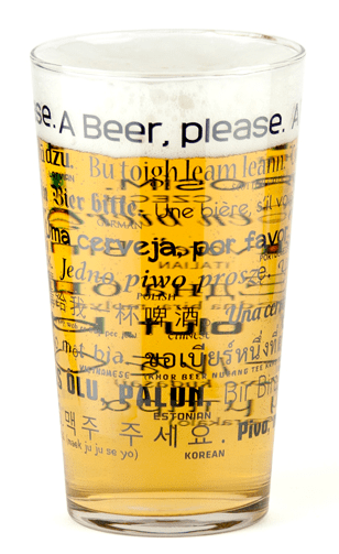Blogging assignment: Review a quirky beer glass - FREE BEER!