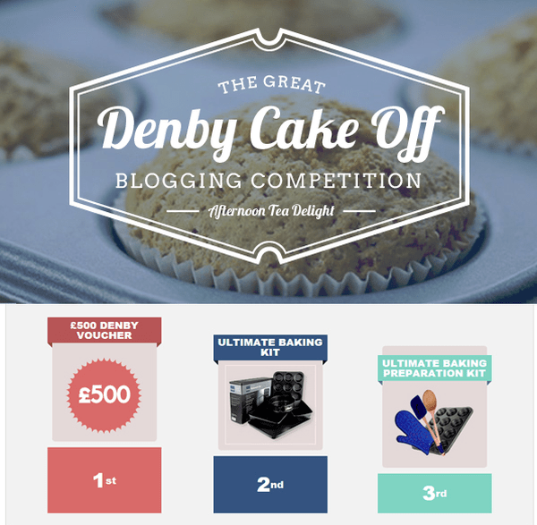Blogging assignment: The Great Denby Cake Off (Worldwide bloggers)