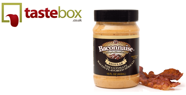 Blogging assignment: Love Bacon? Try Baconnaise! Promote Baconnaise (Bacon Mayonnaise) for Tastebox (UK bloggers)