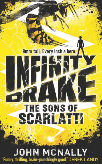 Blogging assignment: Infinity Drake: The Sons of Scarlatti children's/young adults book review and giveaway (UK book bloggers)