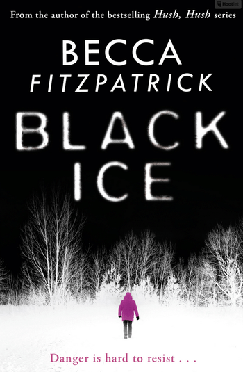 Blogging assignment: Black Ice by Becca Fitzpatrick, book review (UK bloggers)