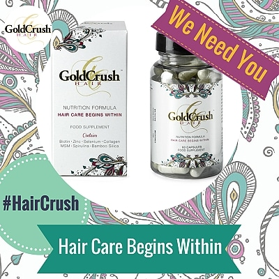 "Blogging assignment: GoldCrush Hair Vitamins | Maintain Longer Stronger Healthier Hair Naturally | Join the ""Crushettes"" (UK bloggers)"