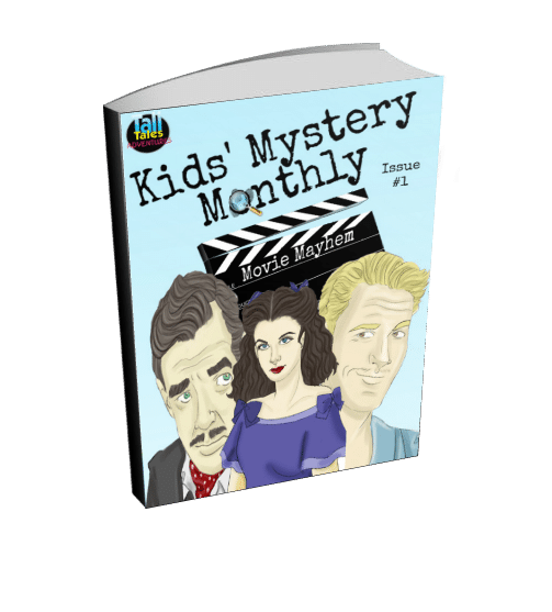 Blogging assignment: Kids Mystery Monthly - an e-magazine for kid detectives (Worldwide bloggers)