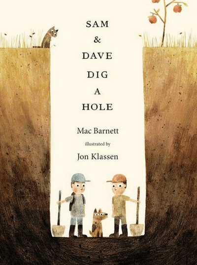 Blogging assignment: Book Review - Sam and Dave Dig a Hole (UK bloggers)