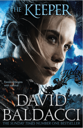 Blogging assignment: The Keeper by David Baldacci - YA and Adult Book Review! (UK bloggers wanted)