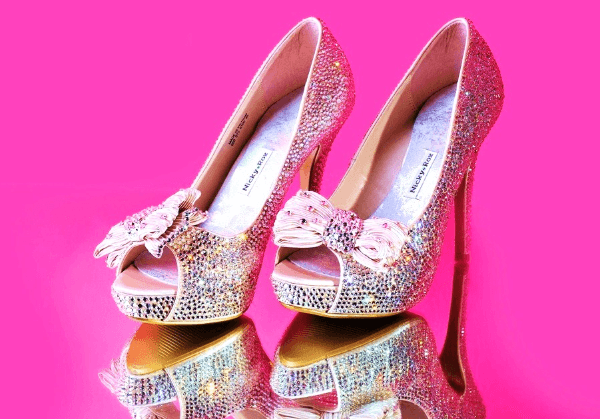 Blogging assignment: How To Add Crystals & Pearls to your own shoes! Craft Workshop (UK bloggers)