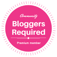 Bloggers Required Premium Member