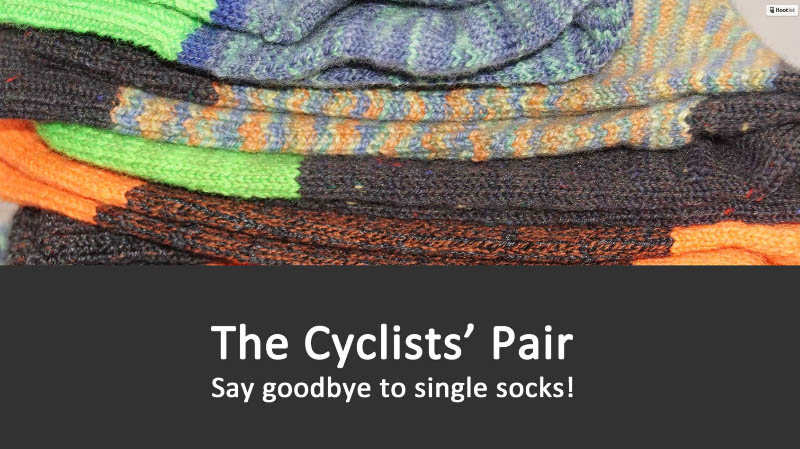 Blogging assignment: The Cyclists' Pair - say goodbye to single socks (Worldwide bloggers)