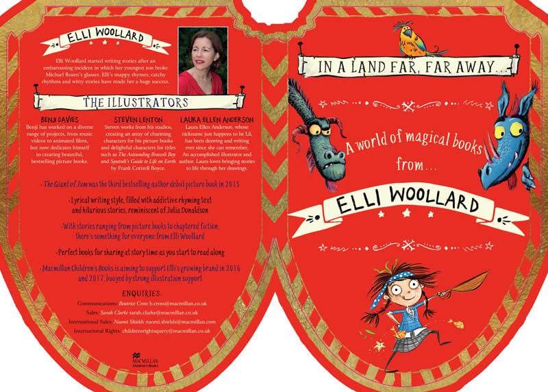 UK blogging assignment: A World of Magical Books by Elli Woolard - 3 x Book Reviews