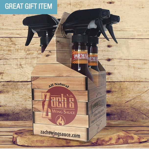 US blogging assignment: Father's Day Gift Idea - Zach's Wing Sauce
