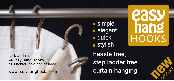 New innovative Curtain Hooks