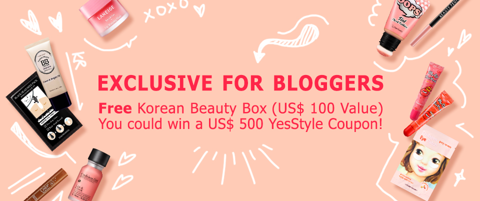 Blogging assignment: Exclusive for Bloggers - Free Korean Beauty Box (Worldwide bloggers)