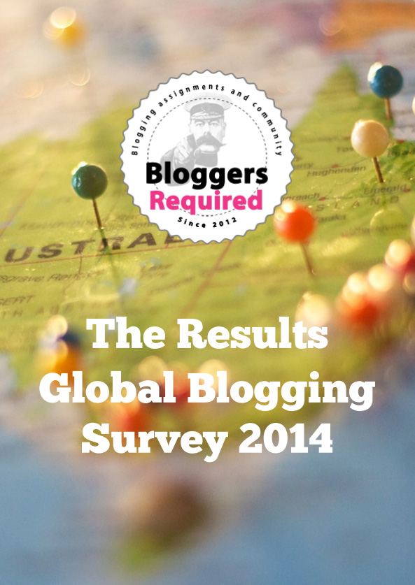 2014 Global Blogging Survey Resullts