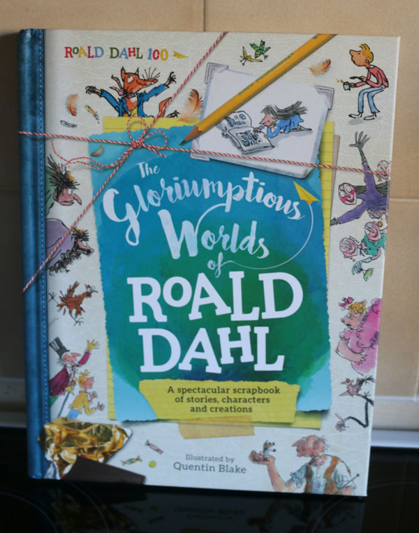 UK Giveaway: The Gloriumptious Worlds of Roald Dahl book worth £16.99