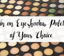 UK Giveaway: Win an Eyeshadow Palette of your Choice – Closes 02/28/2017