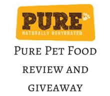 Giveaway: Win A Months Supply of Pet Food with Pure Pet Food – Closes 11/01/2017