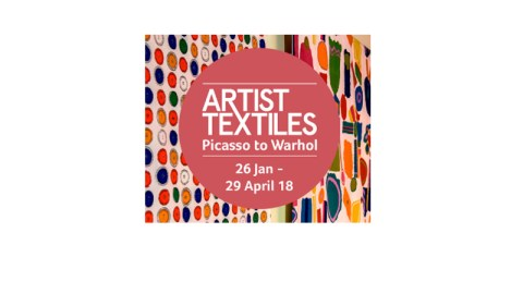 Blogging assignment: Fashion-lovers & creatives wanted to visit 'ARTIST TEXTILES Picasso to Warhol' at New Lanark (Central Scottish bloggers). Closes 5th Feb 2017