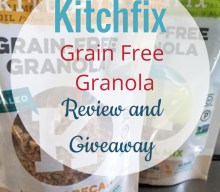 Blogger @hollybeetells US Giveaway: Win a @kitchfix Paleo Granola Prize Pack – Closes 7th Feb 2018