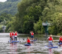 UK blogging assignment: Stand Up Paddleboarding and Mega SUP in the Wye Valley. Closes 29th June 2018