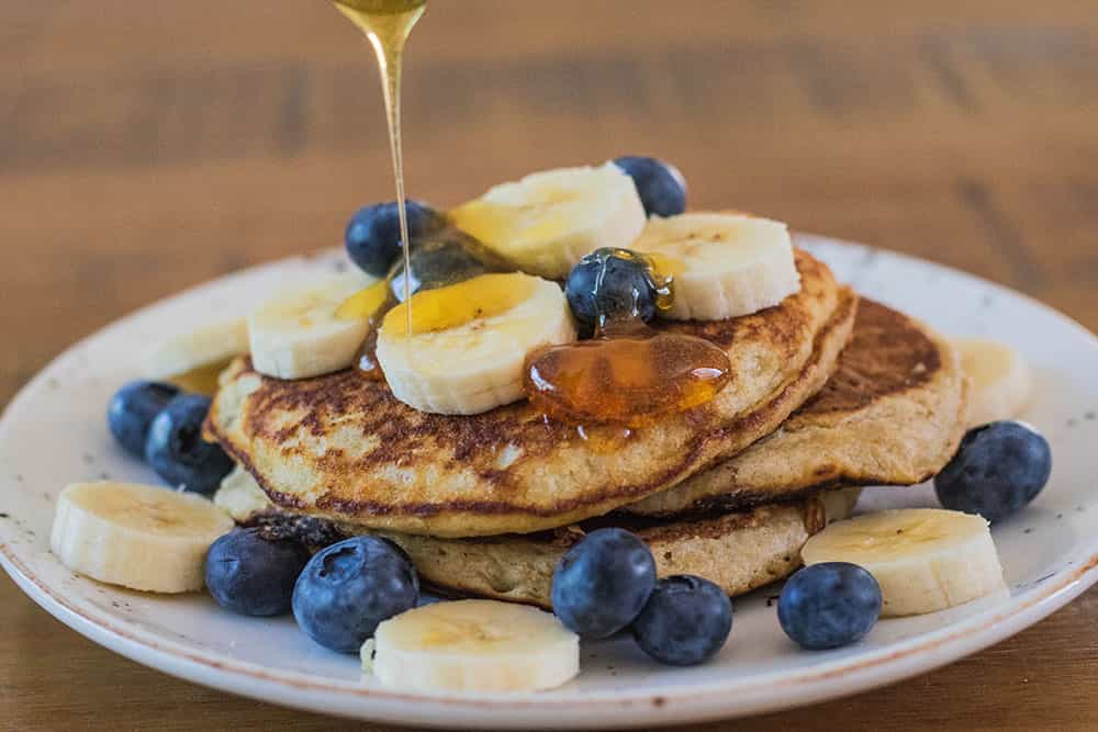 Banana Pancakes - Quick and Easy Recipe. Addition of cinnamon for extra flavour | AmateurChef.co.uk