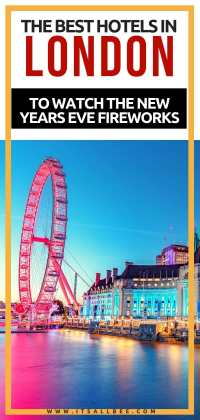 Tips on how to find places to stay London new years eve. Everything from cheap places to stay in London new years eve, London hotels new years eve deals and London hotels with views of new years eve fireworks.
