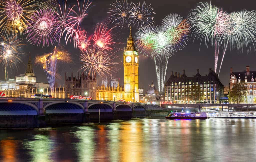 A local's guide to London hotels with views of new years eve fireworks and places to stay London on new years eve plus tips on cheap hotels in London on new year's eve.