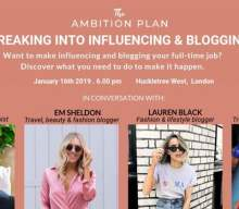 UK bloggers: Learn how to seriously grow your blog in 2019 (Blogging event London, 16th Jan 2019)