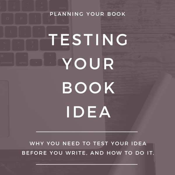 Bloggers, are you ready to start writing your book? Be sure to test your idea first so you don't waste your time! Read more about how you should be testing your book idea.
