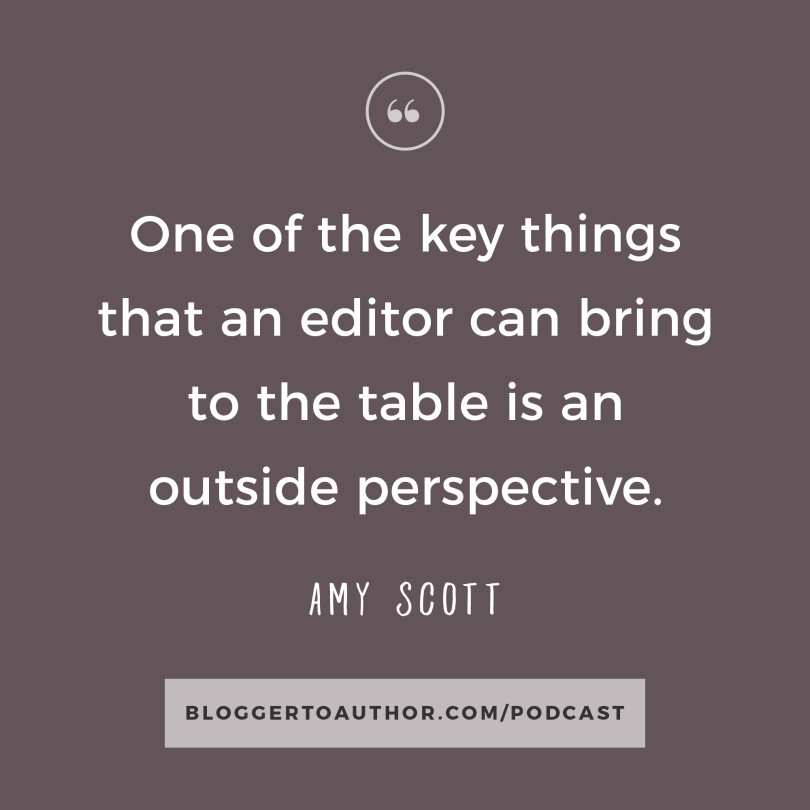Blogger to Author Podcast Episode 13 with Amy Scott