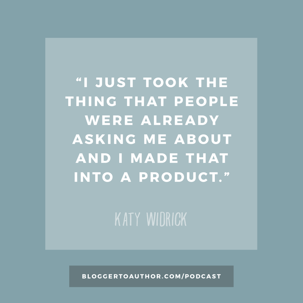 Blogger to Author Episode 25: From 'Hobby to Jobby' with Katy Widrick