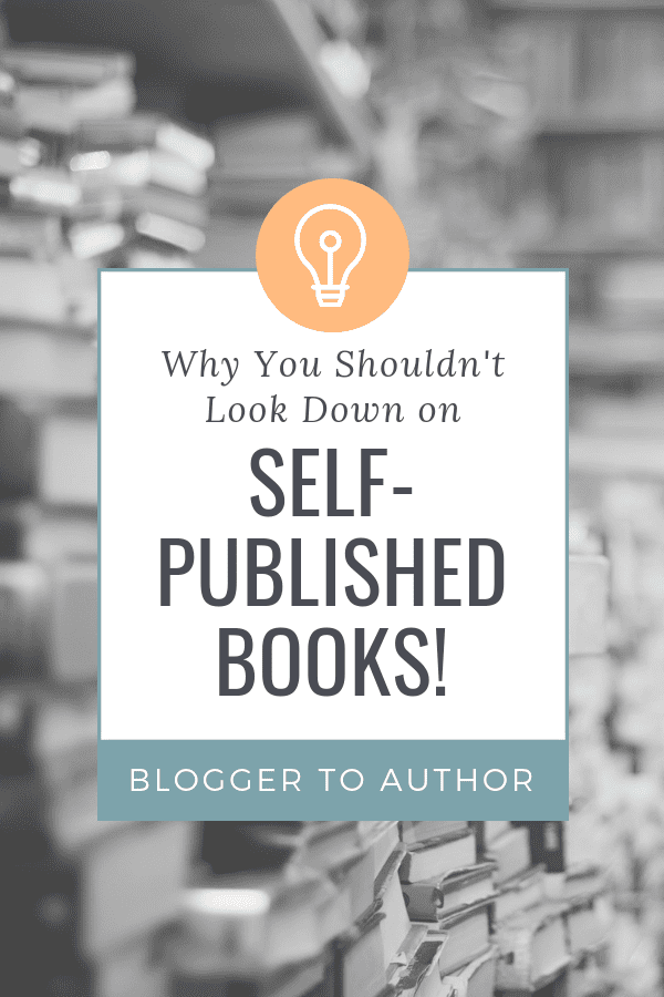 Why you should be proud of your self published book & the mindset shift you should make to look at your self-published book clearly.