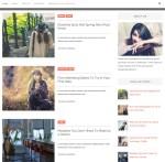 Alison Blogger Template Single Preview