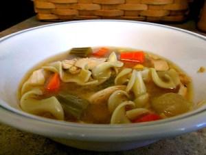 Chicken Noodle Soup (Crockpot)