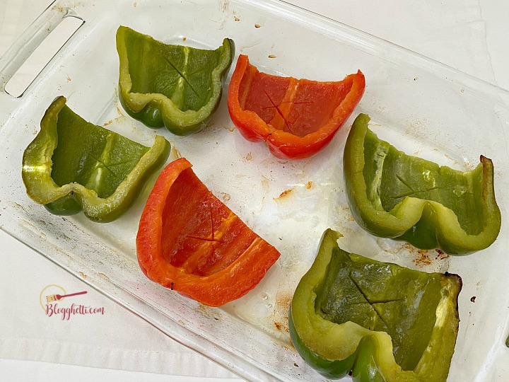 pre-roasted peppers