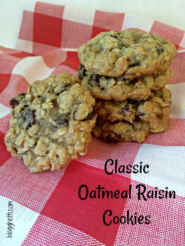 TheseOatmeal Raisin Cookies are soft and chewy and have been a part of my life since childhood. Nothing fancy or complicated, just pure homemade goodness - a classic cookie.