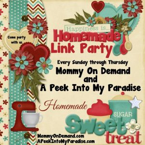 Happiness is Homemade Link Party #50