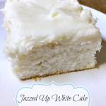 Jazz up boxed white cake mix