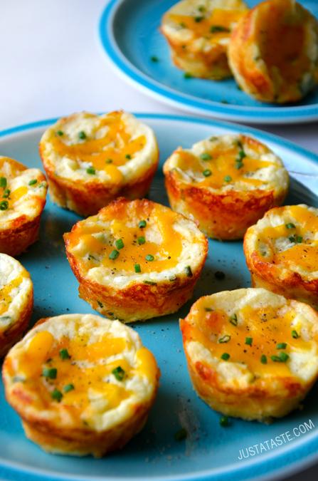 cheesy-leftover-mashed-potato-muffins-recipe