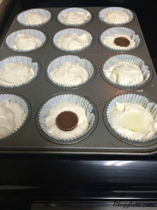 cupcakes with pb cups