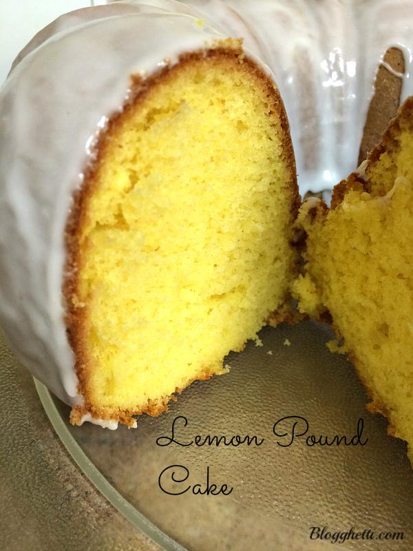 lemon pound cake whole