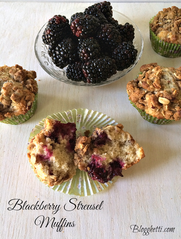 Blackberry-Streusel Muffins