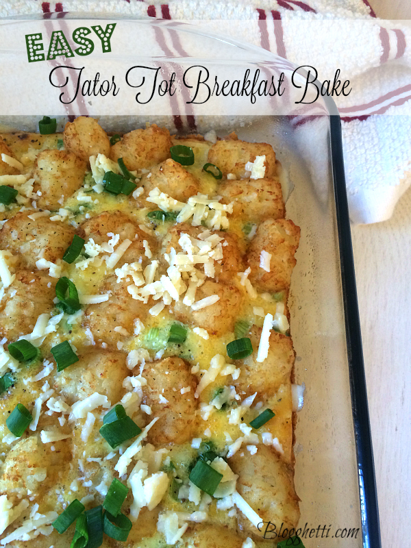 tator tot breakfast bake