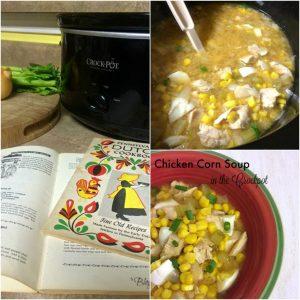 Crockpot Chicken Corn Soup